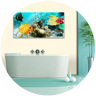 canvas prints for bathroom