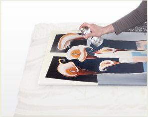 Comment appliquer le vernis sur toile ?