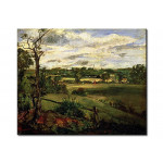 Quadro famoso View of Highgate from Hampstead Heath 111500