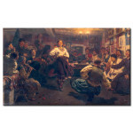 Reproduction Painting Jolly evening in the Village 51300