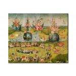 Reproducción The Garden of Earthly Delights: Allegory of Luxury, central panel of triptych 107910