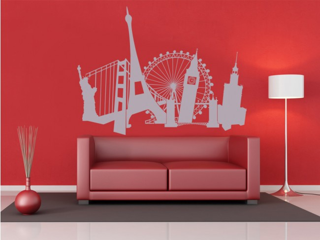 Sticker mural Monuments 98710 additionalImage 2
