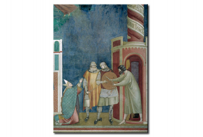 Riproduzione quadro The lieration of the heretic Peter 109420