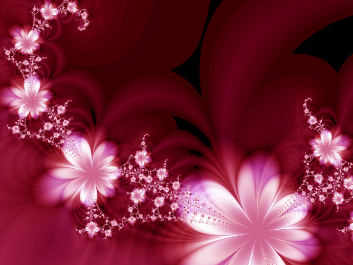 Photo Wallpaper Floral dream 60720 additionalImage 1