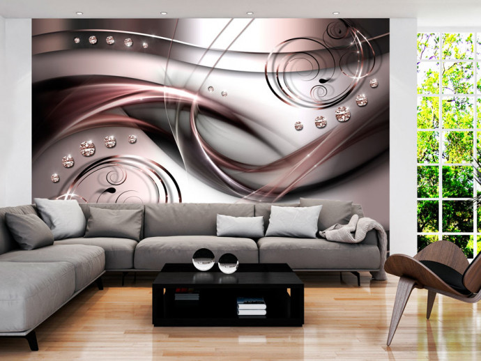 Wall Mural Copper wave 97720
