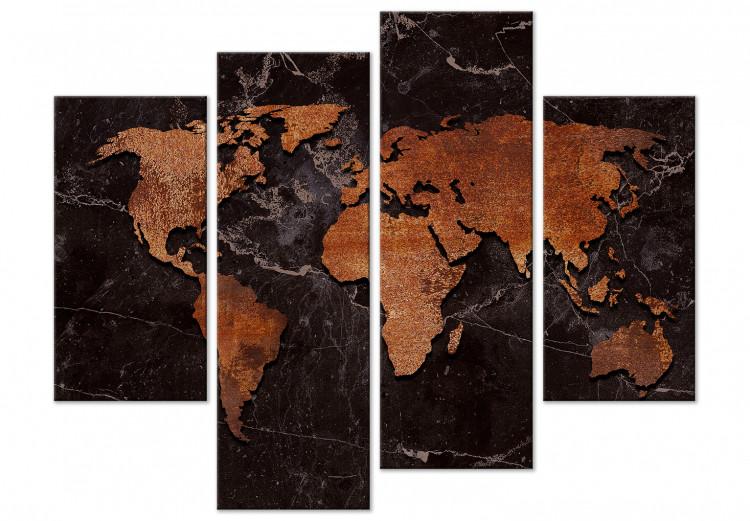 Copper Map (4 Parts)