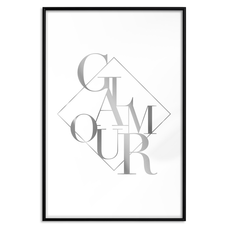 Glamour [Deco Poster - Silver]
