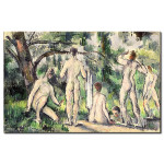 Reproduction Painting Study of Bathers 50930