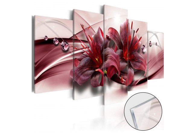 Pink Lily [Glass] 93730
