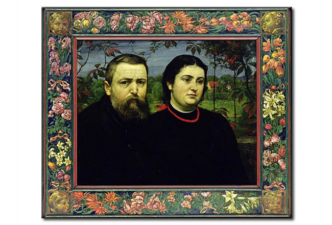 The Artist with his Wife Bonicella 109740