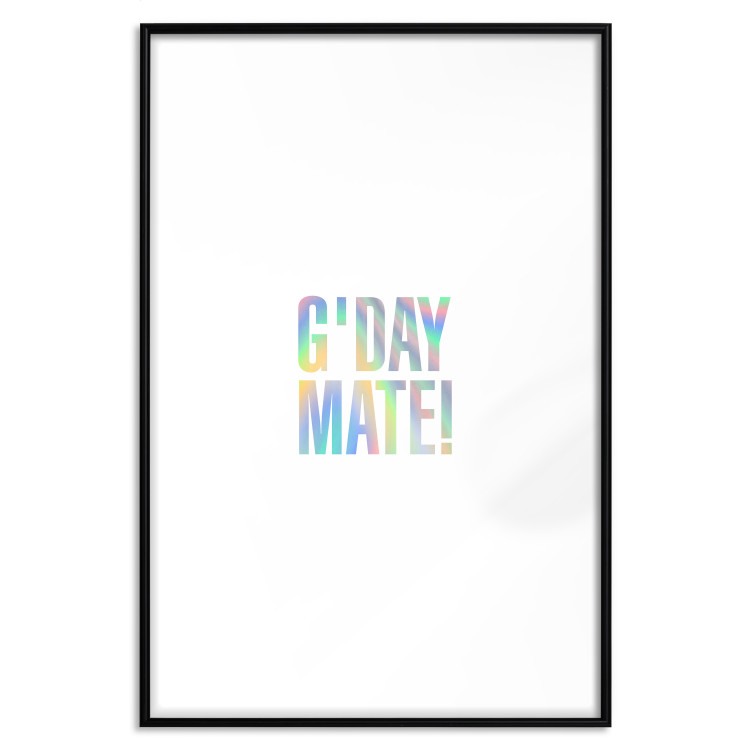 G'day Mate [Deco Poster - Holographic]