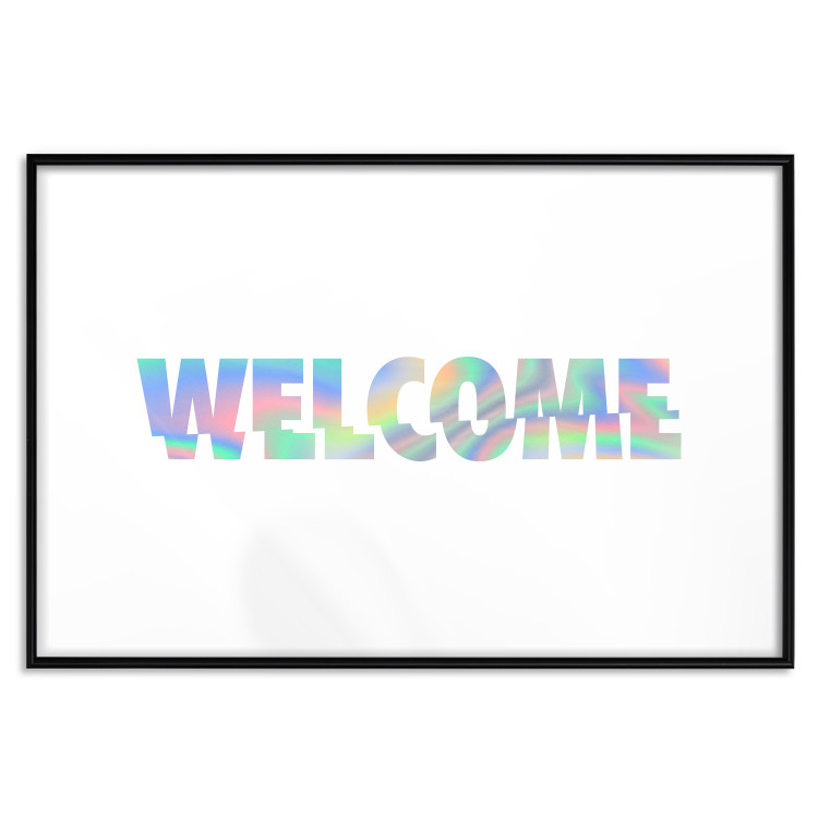 Welcome [Deco Poster - Holographic]