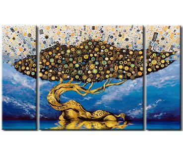 D corations murales cri tableaux papiers peints for Tableau avec papier peint