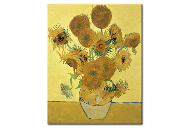 Kunstdruck Sonnenblumen