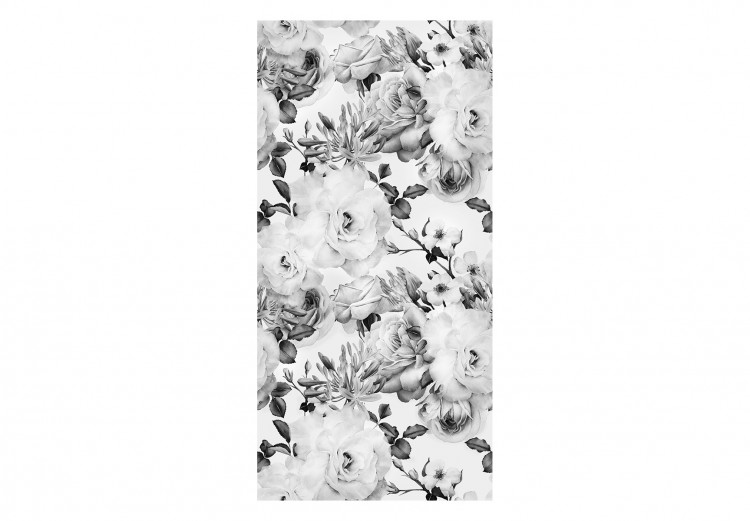 English Flowers (Black and White)