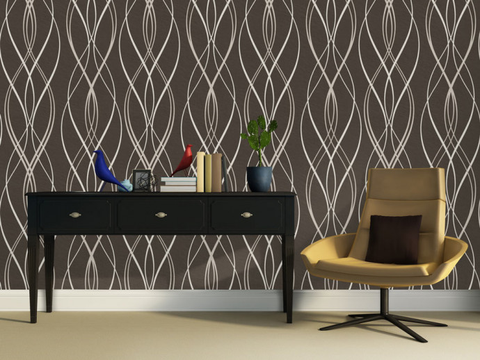 Modern Wallpaper Chocolate relaxation 89080
