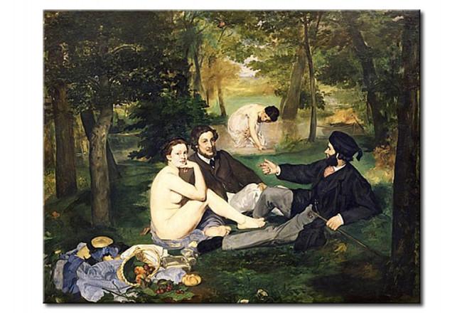 Tableau Dejeuner Sur L Herbe Edouard Manet Reproductions