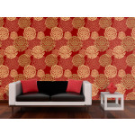 Wallpaper Coppery dill 89401