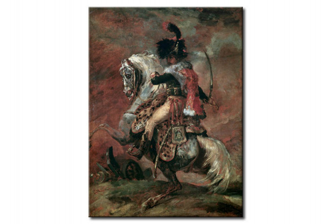 Art Reproduction Officer of the Imperial Guard on Horseback 112311