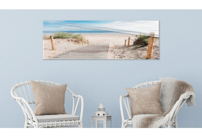 Print On Glass Charming Beach [Glass] 94211 additionalImage 2