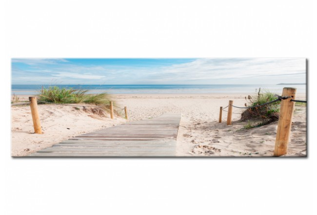 Print On Glass Charming Beach [Glass] 94211 additionalImage 1