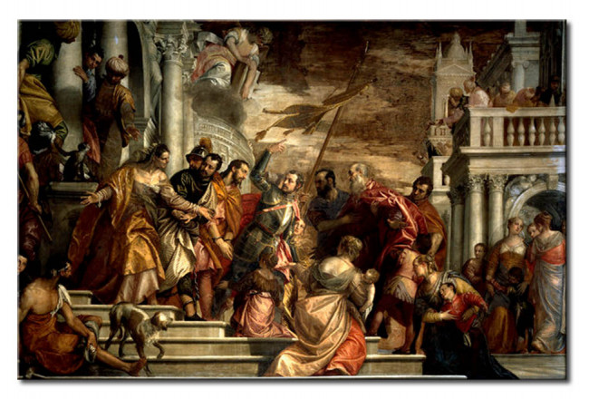 Riproduzione quadro St. Mark and St. Marcellian are lead to their martyrdom 112221