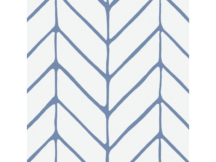 Wallpaper Harmony of Patterns (Blue) 122631 additionalImage 2