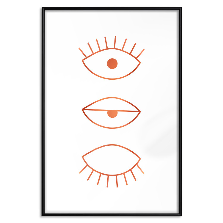 In the Blink of an Eye [Deco Poster - Copper]