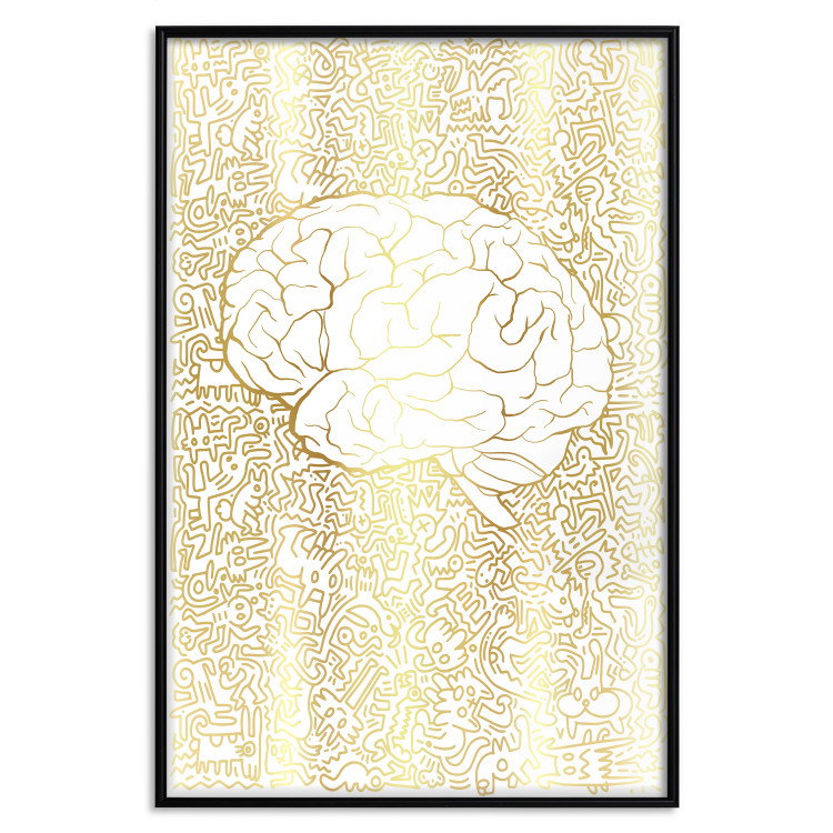 Pure Mind [Deco Poster - Gold]