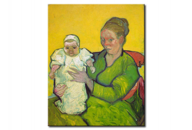 Reprodukcja Madame Roulin with her child Marcelle 52431