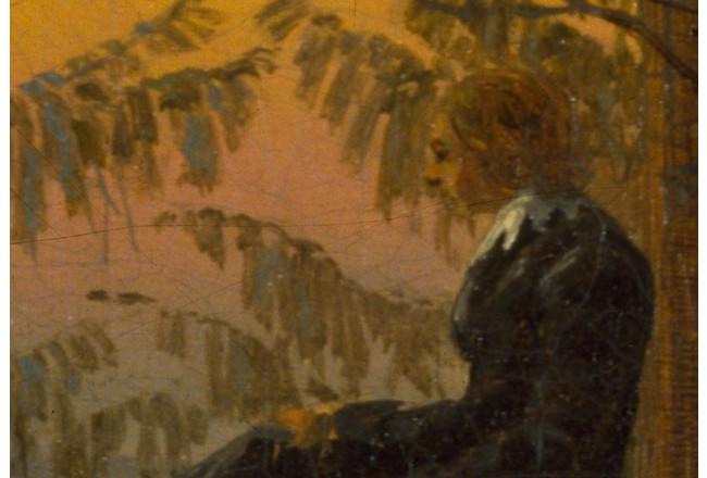 Tableau déco Le Rêveur - Caspar David Friedrich - Reproductions