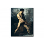 Tableau sur toile Study of a Male Nude 110741