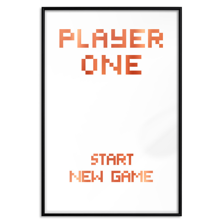 Start new game [Deco Poster - Copper]