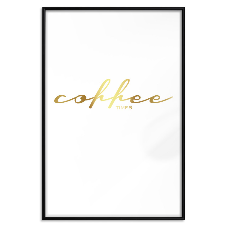 Coffee Times [Deco Poster - Gold]