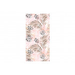 Modern Wallpaper Pink Palm Leaves 114661 additionalThumb 1