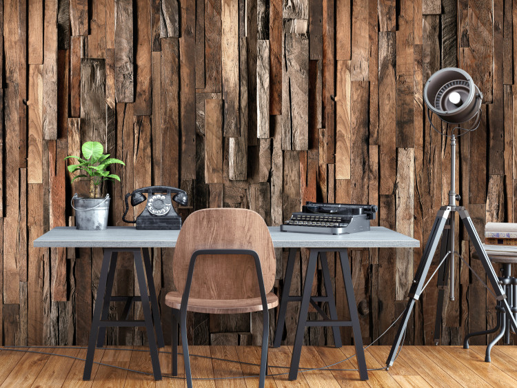 Wooden Curtain (Brown)