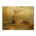 Canvas Art Print An der Nordsee 108971