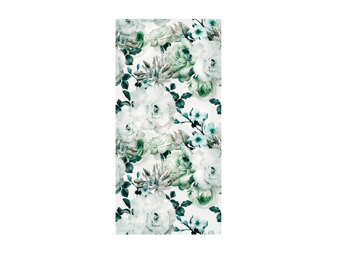 Wallpaper English Flowers (Green) 117981 additionalImage 1