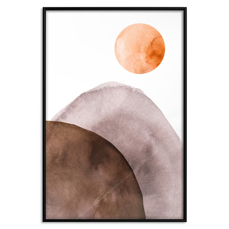 Moon and Mountains [Poster]