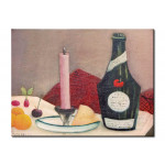 Art Reproduction La Bougie rose 51281