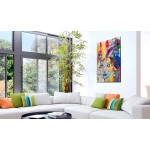 Quadro in vetro acrilico Colourful Thoughts [Glass] 92491 additionalThumb 2