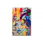 Quadro in vetro acrilico Colourful Thoughts [Glass] 92491 additionalThumb 1