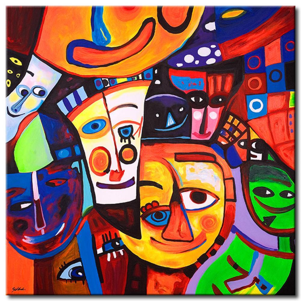 Quadro mondo dei colori per bambini quadri - Bimago cuadros modernos ...