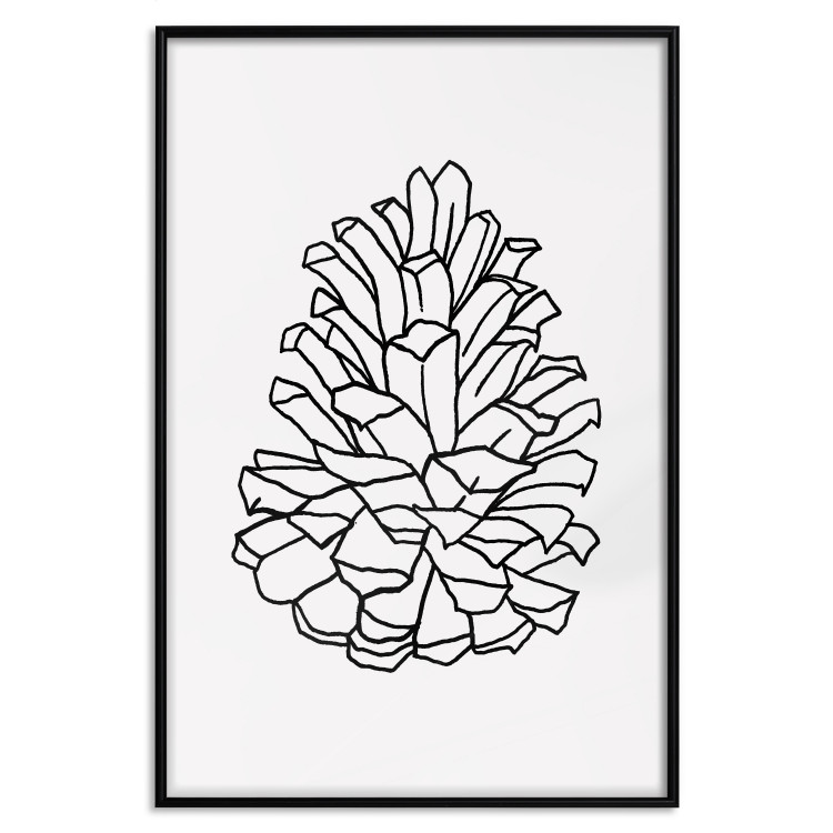 Open Pine Cone [Poster]