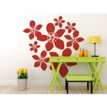 Autocollant mural Floral design 56912 additionalThumb 2