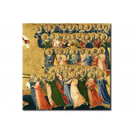 Reproducción de cuadro Christ Glorified in the Court of Heaven, detail of musical angels from the right hand side 111422