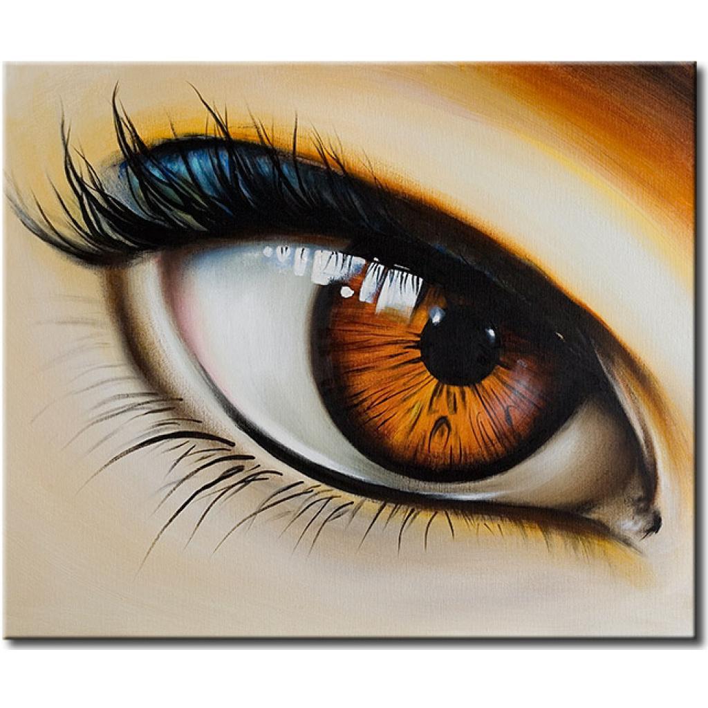 oeil-brun-xxl, 50.18 EUR @ bimago