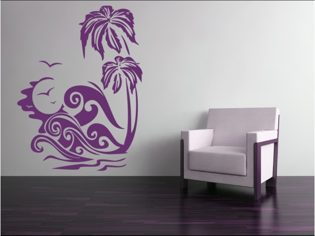 Sticker mural Palm tree 91422 additionalImage 1