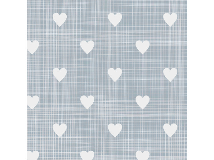 Papel pintado White Hearts 108132 additionalImage 2