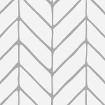 Papier peint design Harmony of Patterns (Grey) 122632 additionalThumb 2